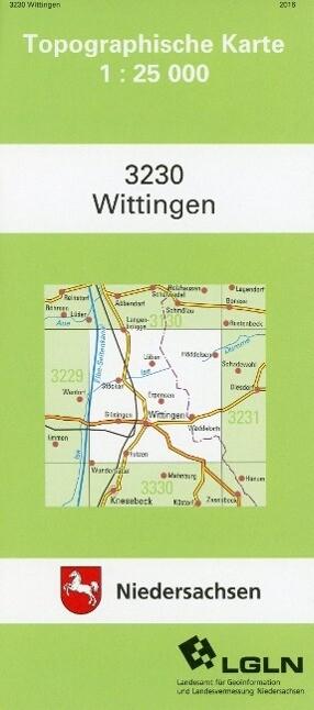 Wittingen 1 : 25 000 als Buch