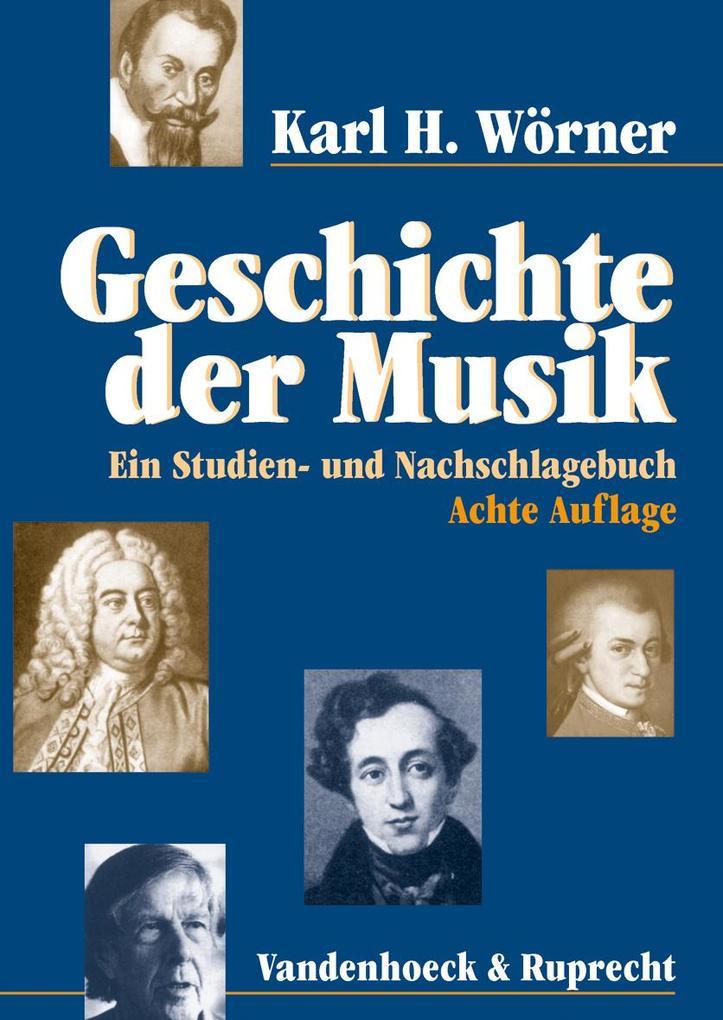 Geschichte der Musik als Buch