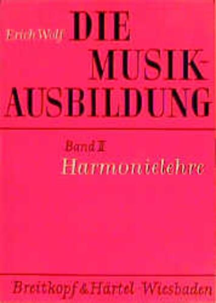 Die Musikausbildung II. Harmonielehre als Buch