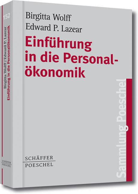 Einführung in die Personalökonomik als Taschenbuch