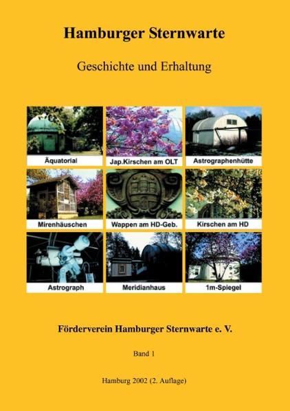 Hamburger Sternwarte - Geschichte und Erhaltung als Buch
