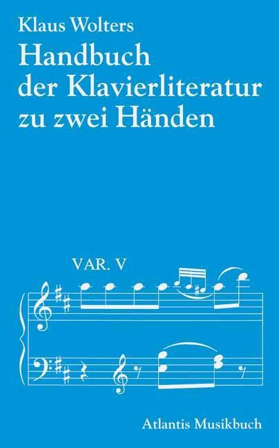 Handbuch der Klavierliteratur als Buch