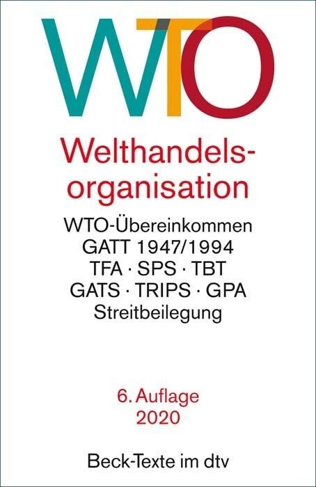 Welthandelsorganisation als Taschenbuch