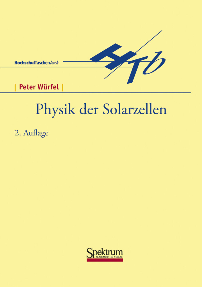 Physik der Solarzellen als Buch