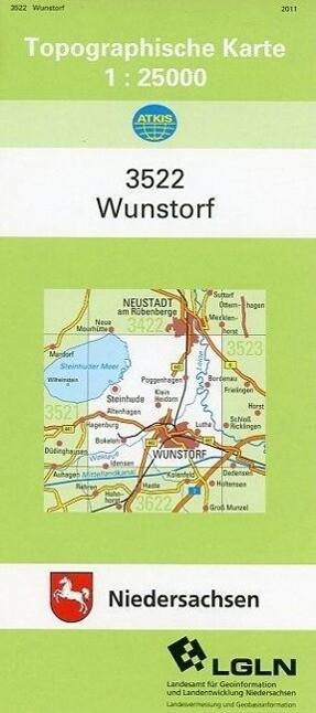 Wunstorf 1 : 25 000. (TK 3522/N) als Buch