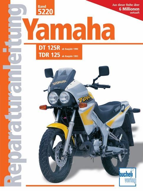 Yamaha TDR 125 ab 1993 / DT 125R ab 1990 als Buch (kartoniert)