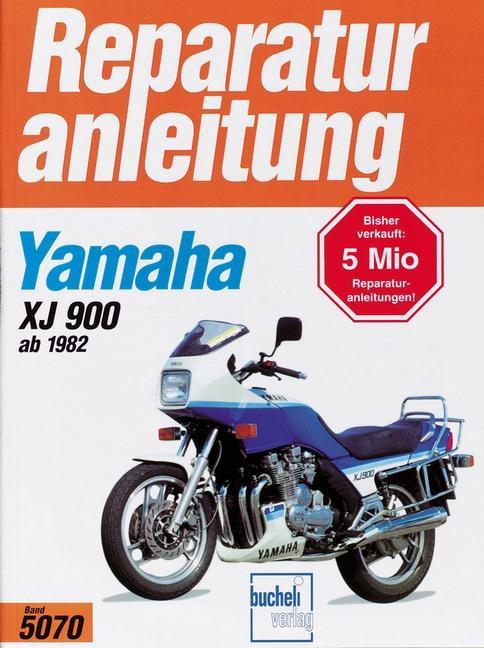 Yamaha XJ 900 als Buch