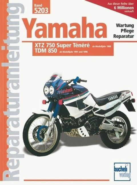 Yamaha XTZ 750 Tenere / TDM 850 als Buch