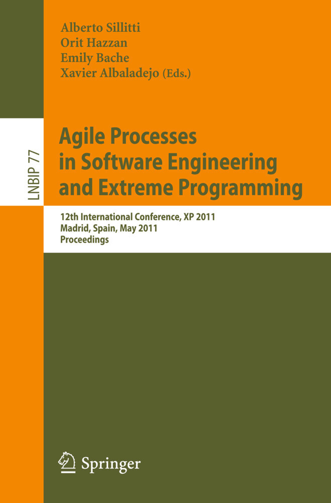Agile Processes in Software Engineering and Extreme Programming als Buch