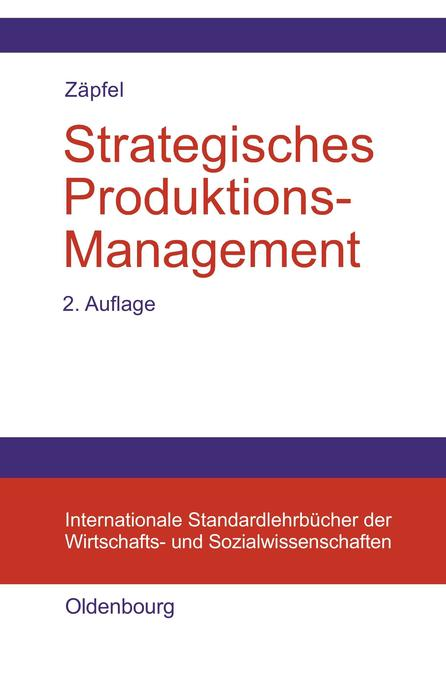 Strategisches Produktions-Management als Buch