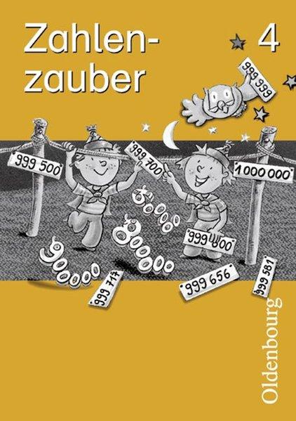 Zahlenzauber 4. Arbeitsheft. Bayern. Euro als Buch