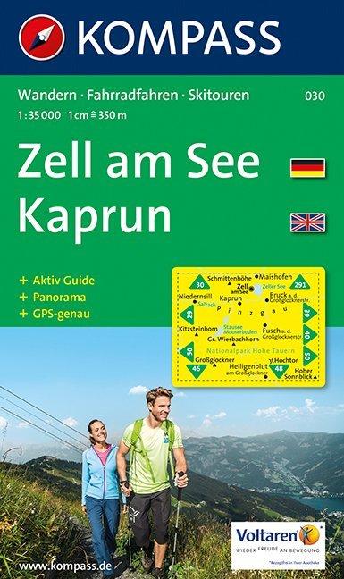 Zell am See. Kaprun. 1 : 35 000 als Buch