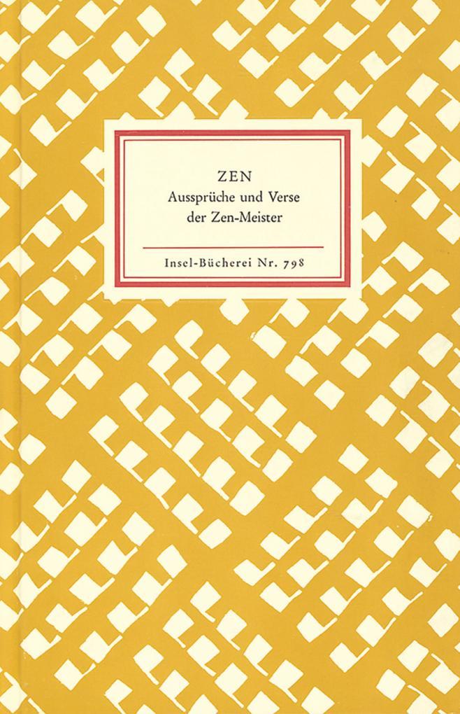 Zen als Buch