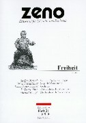 ZENO. Heft 21. Freiheit als Buch