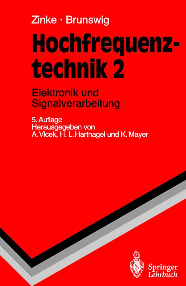 Hochfrequenztechnik 2. Elektronik und Signalverarbeitung als Buch