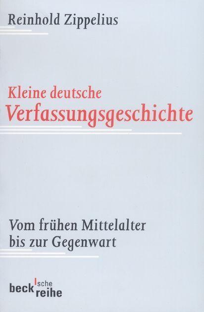 Kleine deutsche Verfassungsgeschichte als Taschenbuch