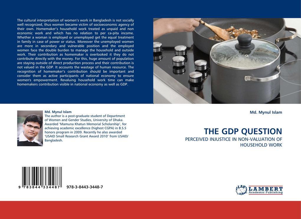 THE GDP QUESTION als Buch von Md. Mynul Islam - LAP Lambert Acad. Publ.