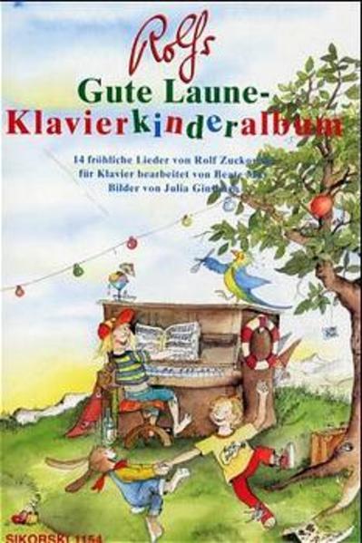 Rolfs Gute Laune-Klavierkinderalbum als Buch