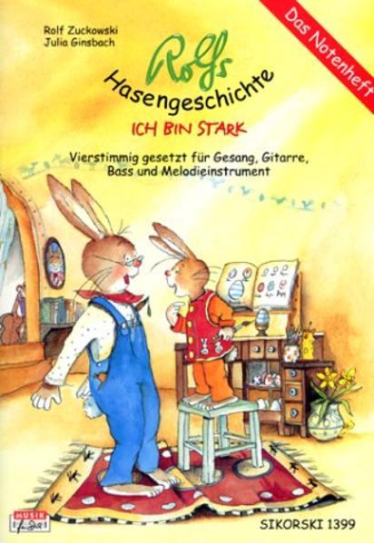 Rolfs Hasengeschichte. Notenheft als Buch