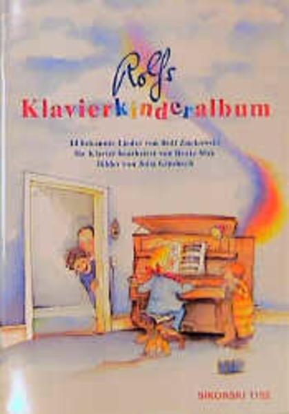 Rolfs Klavierkinderalbum als Buch