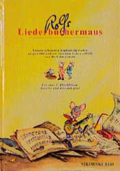 Rolfs Liederbüchermaus als Buch