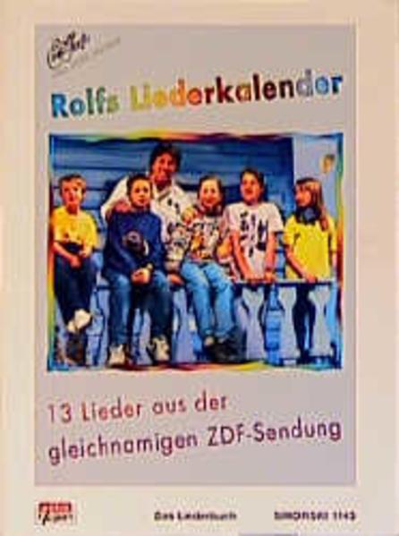 Rolfs Liederkalender als Buch