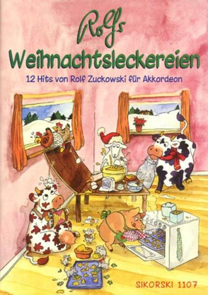 Rolfs Weihnachtsleckereien als Buch