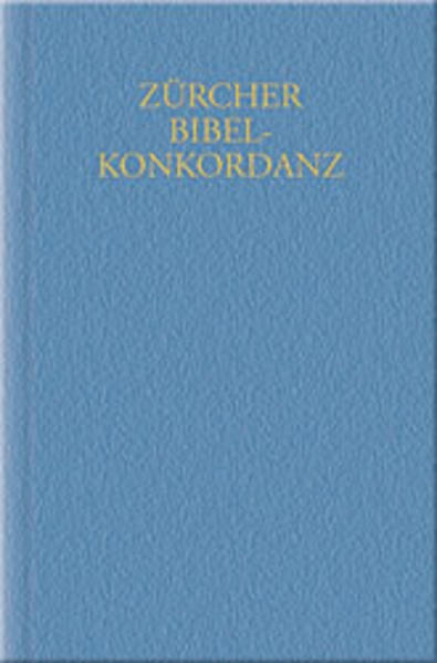 Zürcher Bibelkonkordanz (1931). 3 Bände als Buch