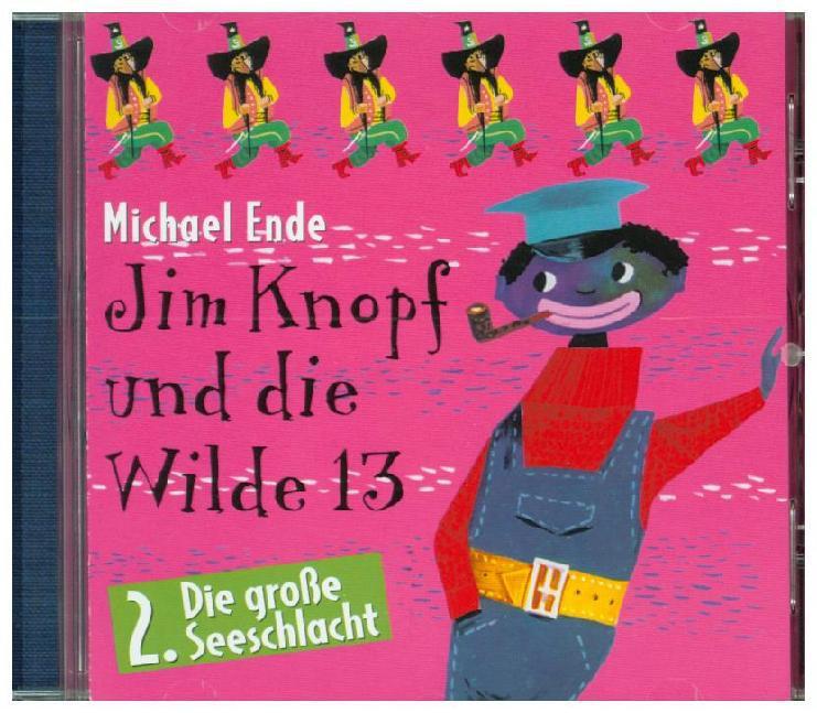 Jim Knopf und die Wilde 13. Folge 2. CD als Hörbuch
