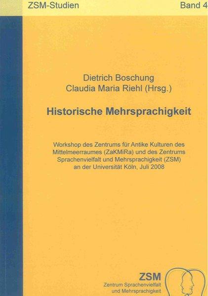 Historische Mehrsprachigkeit als Buch