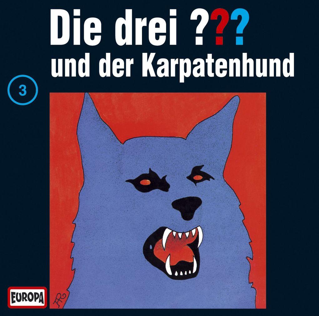 Die drei ??? 003 und der Karpatenhund (drei Fragezeichen) CD als Hörbuch