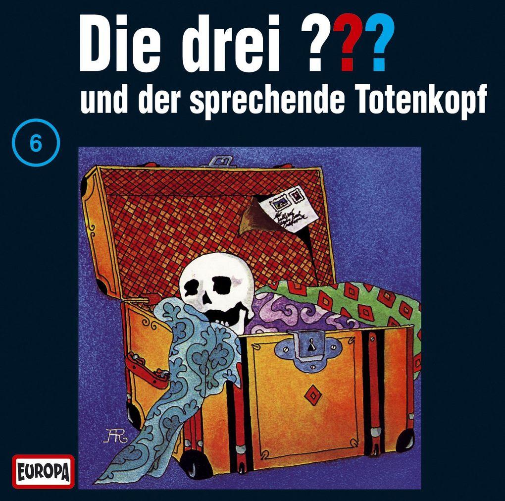 Die drei ??? 6 und der sprechende Totenkopf (drei Fragezeichen) CD als Hörbuch