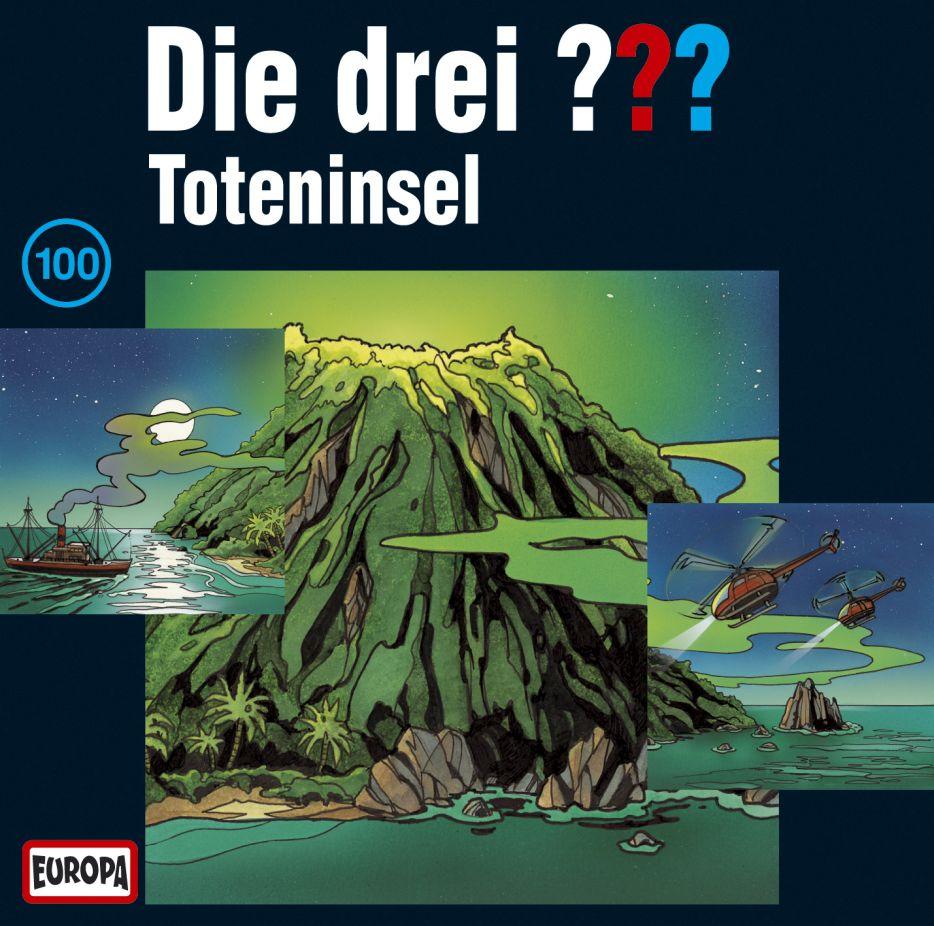 Die drei ??? 100. Toteninsel (drei Fragezeichen) 3 CDs als Hörbuch