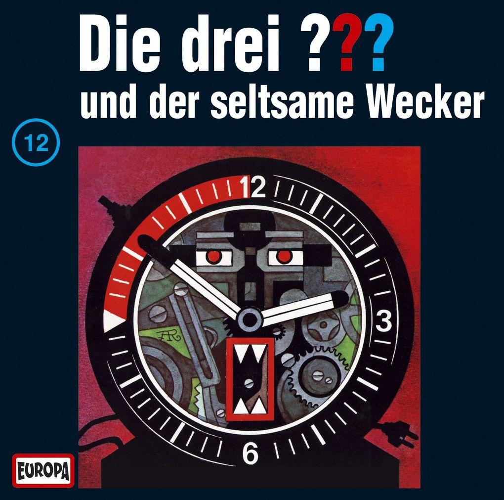 Die drei ??? 012 und der seltsame Wecker (drei Fragezeichen) CD als Hörbuch