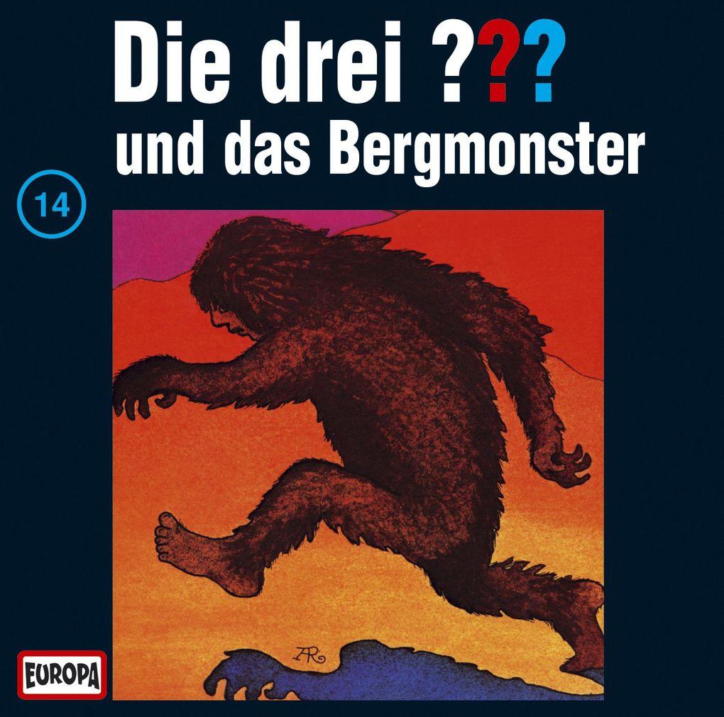 Die drei ??? 014 und das Bergmonster (drei Fragezeichen) CD als Hörbuch