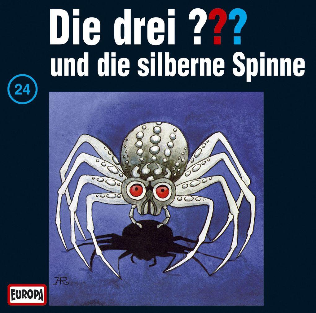 Die drei ??? 024 und die silberne Spinne (drei Fragezeichen) CD als Hörbuch