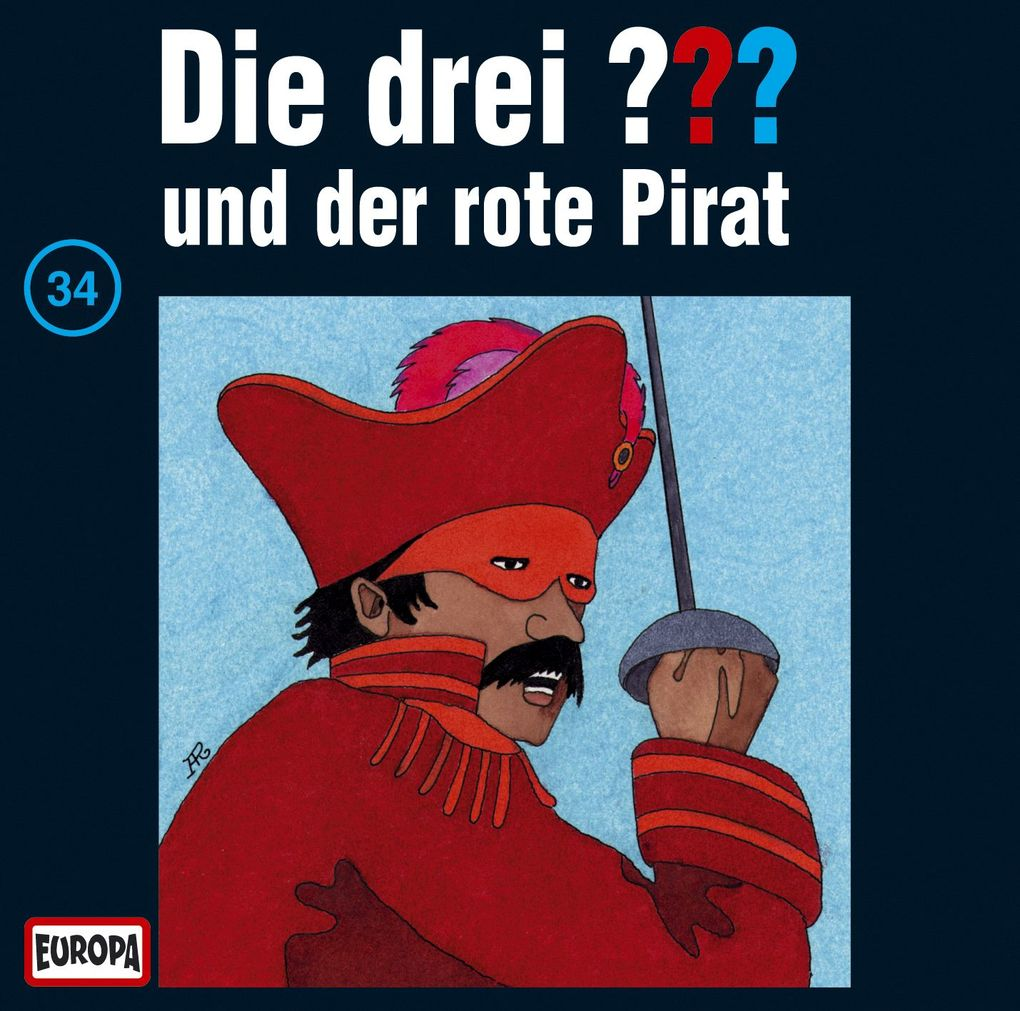 Die drei ??? 034 und der rote Pirat (drei Fragezeichen) CD als Hörbuch