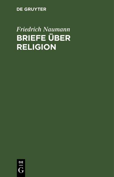 Briefe über Religion als Buch (gebunden)