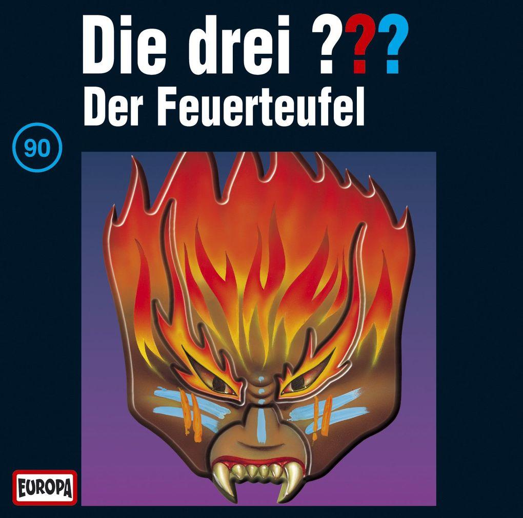 Die drei ??? 090. Der Feuerteufel (drei Fragezeichen) CD als Hörbuch