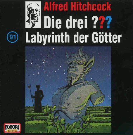 Die Drei ??? 91: 091/Labyrinth der Götter als CD