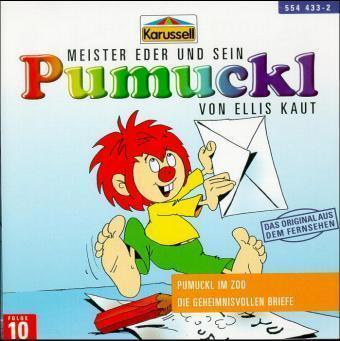 Meister Eder 10 und sein Pumuckl. Pumuckl im Zoo. Die geheimnisvollen Briefe. CD als Hörbuch CD