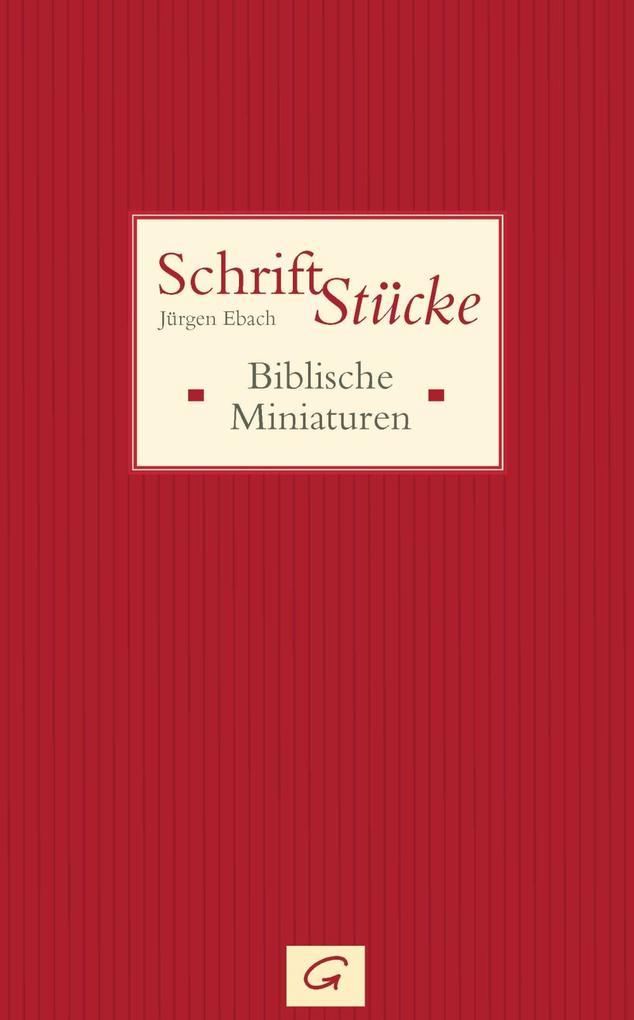 Schrift-Stücke als eBook epub
