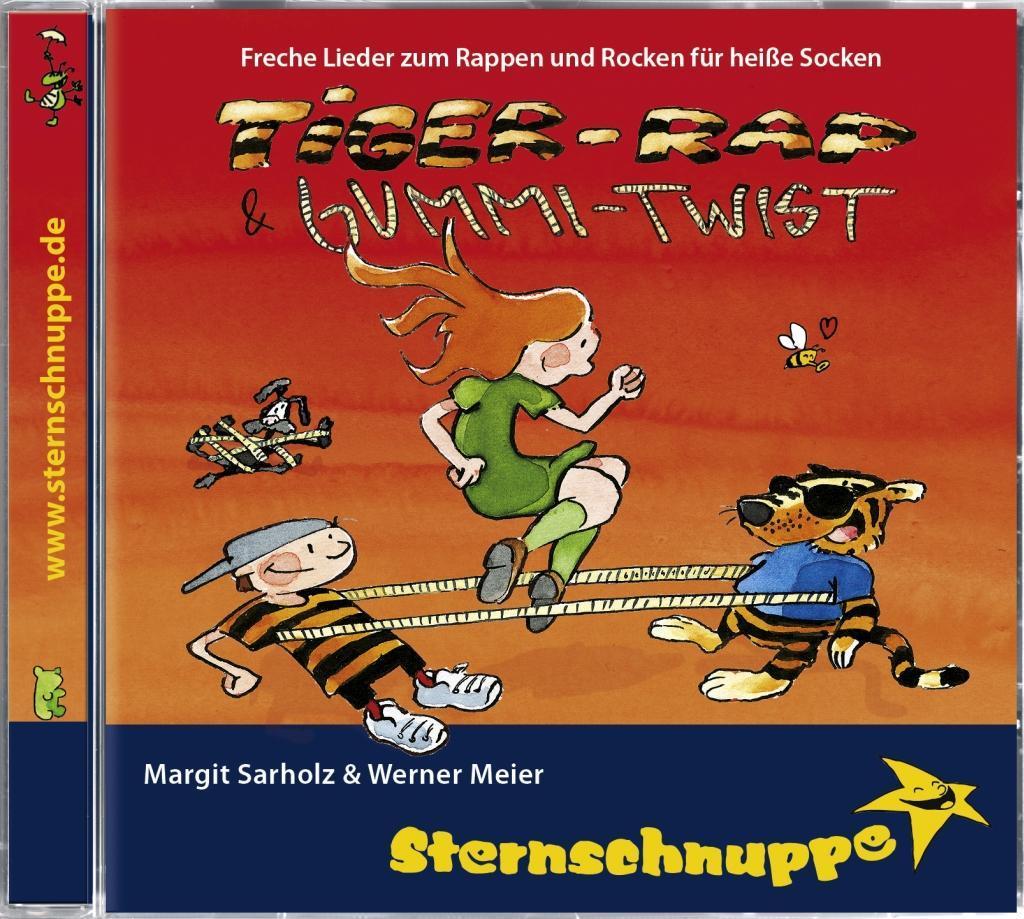Tiger-Rap und Gummi-Twist. CD als Hörbuch