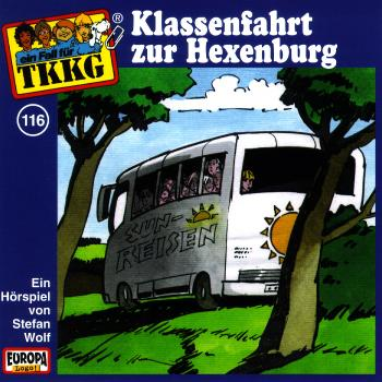 TKKG 116. Klassenfahrt zur Hexenburg. CD als Hörbuch