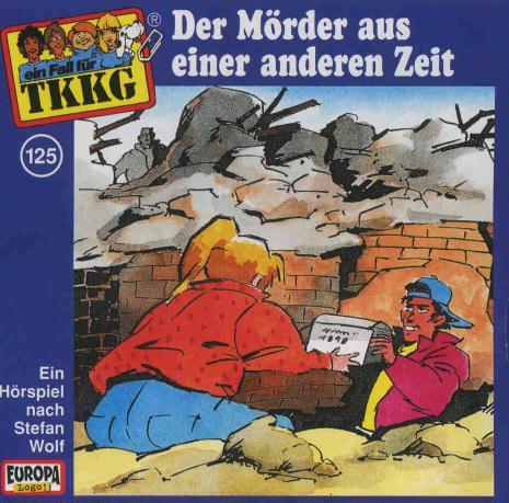 125/Der Mörder aus einer anderen Zeit als Hörbuch