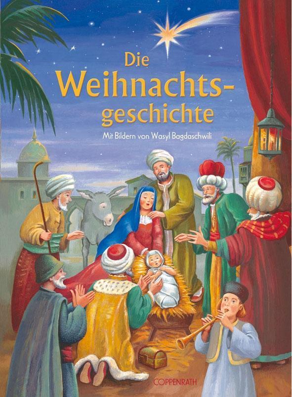 Die Weihnachtsgeschichte als Buch