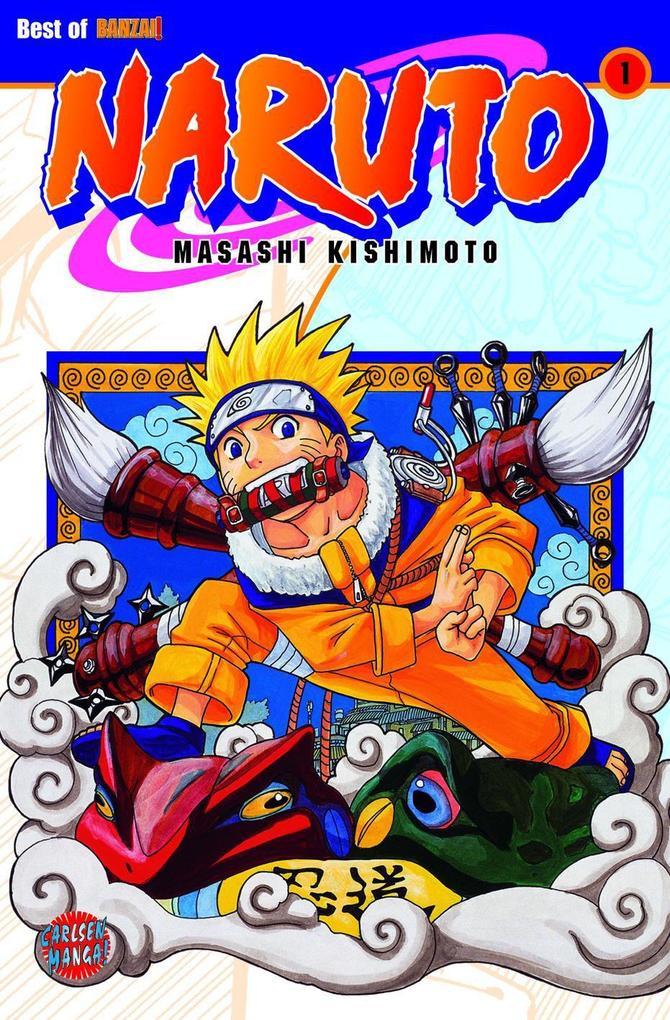 Naruto 01 als Buch