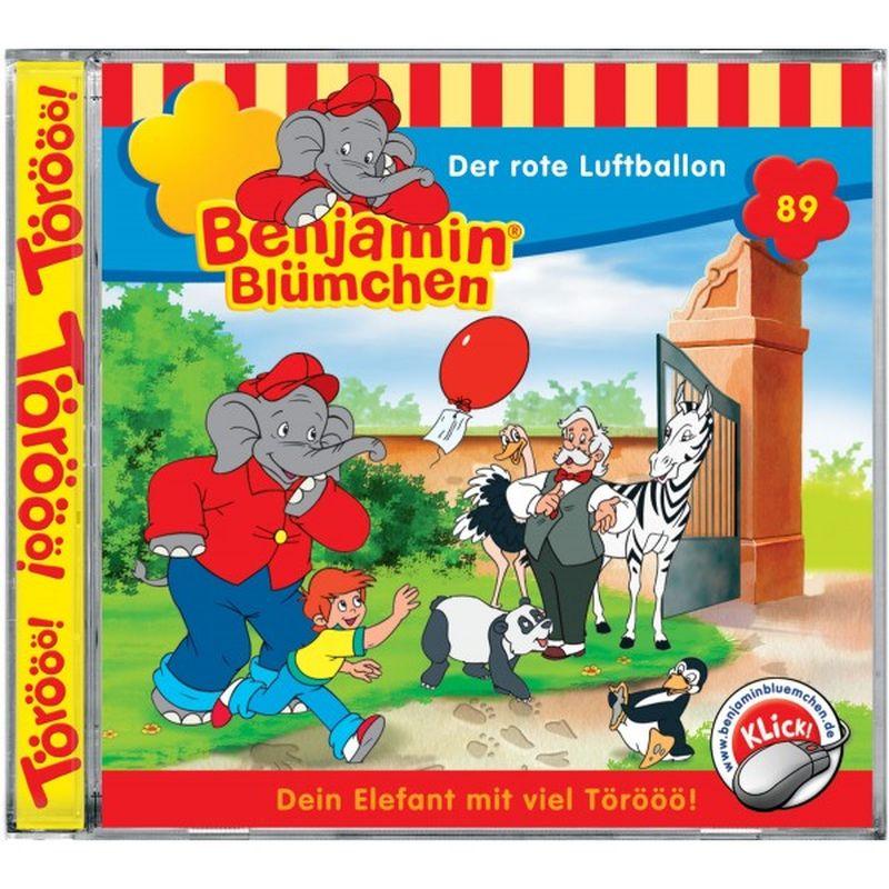 Benjamin Blümchen 089. Der rote Luftballon. CD als Hörbuch