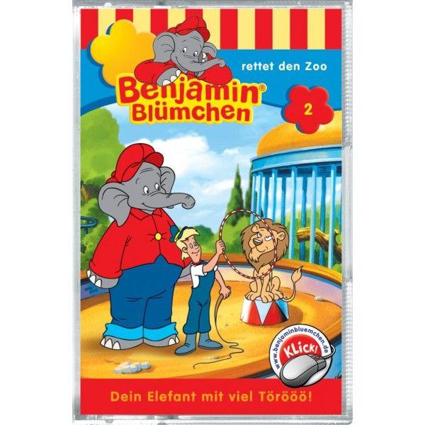 Benjamin Blümchen 002. rettet den Zoo. Cassette als Hörbuch