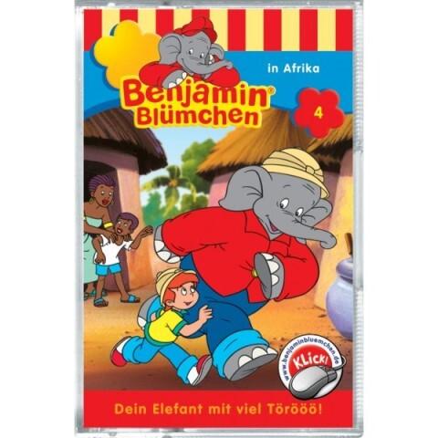 Benjamin Blümchen: Folge 004: in Afrika als Audio-Cassette